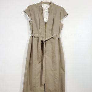 Sandra  Darren Womens beige dress